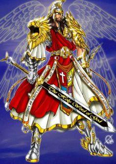 Jesus y su armadura divina