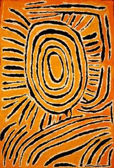 Tjunkiya Napaltjarri, Untitled, 2007, acrylic on inen, 61 x 91 cm. Papunya Tula Artists; Artkelch Gallery, Freiburg.