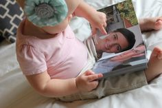 Family Faces Photo Book — ESTHER ANDERSON  Very cute idea