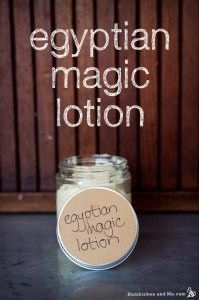 How to make your own Egyptian Magic Lotion humblebee and me