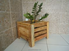 Wood pallet planters are also another great option as they are mostly very easy…