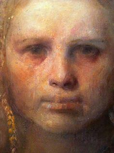 Odd Nerdrum 1944 | Norwegian figurative painter.. Beyond obsessed so beautifully haunting