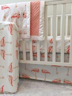 Little Oasis Custom Nursery Pink Flamingo by LittleOasisNurseries