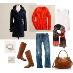 A fashion look from January 2012 featuring J.Crew sweaters, American Vintage t-shirts and J.Crew coats. Browse and shop related looks.