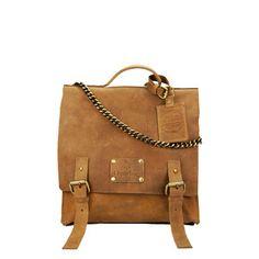Frankie Fierce Schoolbag Camel, 199€, now featured on Fab.