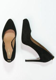 8c91c0c8b bestil Calvin Klein SUZZANNE - Plateaupumps - black til kr 1.245