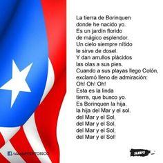 Himno Nacional ... La Borinqueña