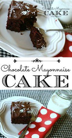 Chocolate Mayonnaise