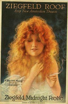 Ziegfeld Beauty - Raphael Kirchner
