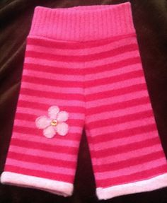 Felted Wool Longies- Diaper Cover - Small