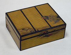 Box with tray  Date: 18th–19th century Culture: Japan Medium: Lacquer