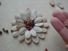 fiorellini su tralcio natalizio