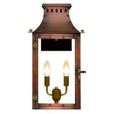 The Coppersmith Market Street MS Outdoor Flush Mount Lantern - MS-16E-AL