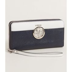 Guess Devyn Wallet ($45) ❤ liked on Polyvore featuring bags and wallets