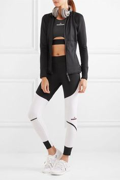 Adidas by Stella McCartney   The Midlayer Climalite stretch-jersey jacket   NET-A-PORTER.COM