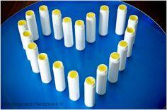 DIY Organic Lip Balm - approx 25¢/tube!