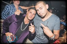 Ronnie and AfroJack Partying at FLUXX San Diego