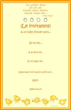 baby shower invitation in spanish more baby shower invites in spanish