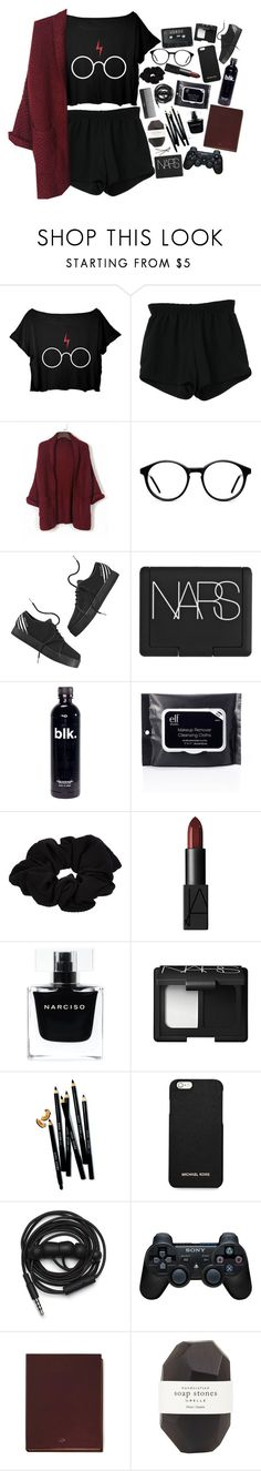 """""""I Keep My Eyes Wide Open All The Time"""" by h-eartstrings ❤ liked on Polyvore featuring Retrò, BOBBY, adidas NEO, Sephora Collection, NARS Cosmetics, River Island, Narciso Rodriguez, Bobbi Brown Cosmetics, MICHAEL Michael Kors and Urbanears"""