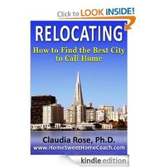 Daily FREE KIndle Book on Amazon: Relocating: How to Find the Best City to Call Home by Claudia Rose http://amzn.to/UvVB2A