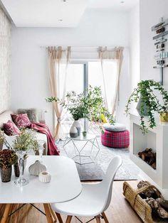 Cozy 45 square meters apartment displays ingenious design solutions