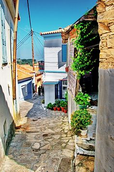 Manolates, Samos Island, Greece