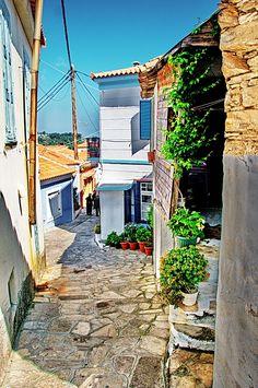 Manolates, Samos Island, Greece