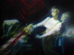 Caravaggio series - 240X160 cm - oil on canvas