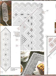 Archivo de álbumes Bobbin Lacemaking, Bobbin Lace Patterns, Crochet Borders, Lace Making, Band, Bookmarks, Hello Kitty, Album, Quilts