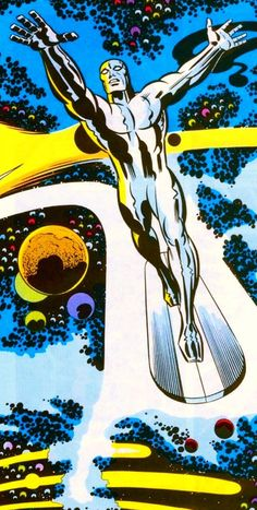 Silver Surfer by Jack Kirby