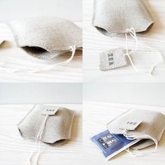 tea bag holder--try with leather scraps?