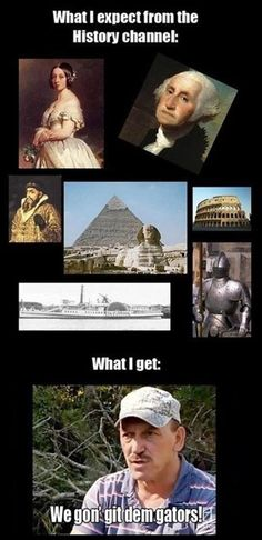 Ohhh history channel