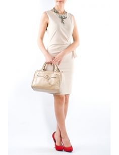Rochie falduri lateral 2481 Beige  Brand: Moda Fashion Lady Dior, Dresses For Work, Beige, Fashion, Taupe, Moda, Fashion Styles, Fashion Illustrations