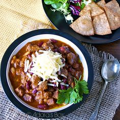 Brisket chili? I'd have Zack Wagner eating out of my hand... out of a bowl.