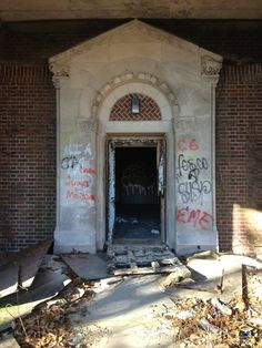 Pilgrim State Mental Institution in Long Island, NY.