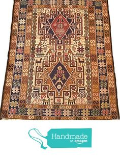 Handwoven Silk Wool Area Rug Kilim 2.42 x 3.08 ft. from Rugsnrunners https://www.amazon.com/dp/B01N1ELROP/ref=hnd_sw_r_pi_dp_3uVKyb1F3MMJA #handmadeatamazon