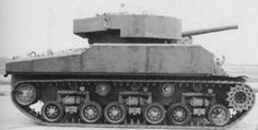 Ordinary morality is only for ordinary people — Shielded American medium tank M-4 Sherman Work on...