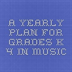 Read Music A yearly plan for Grades in music. I LOVE their foundational beliefs. This was written by intelligent, practical educators. Curriculum Mapping, Curriculum Planning, Lesson Planning, Elementary Music Lessons, Piano Lessons, Music Classroom, Music Teachers, Classroom Ideas, Music Lesson Plans
