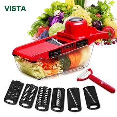Super coupe plus légumes Fruit Peeler Dicer Cutter Chopper Plus Belle Râpe à 9 pcs