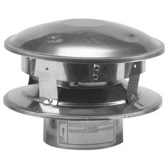 SELKIRK CORP 244800 Vertical Termination Cap, 4-Inch *** You can get additional details at the image link.