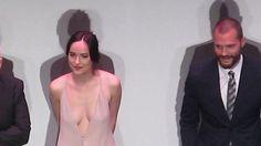 Fifty Shades Darker - LA Premiere - 2.2.17 - stage intro - Jamie Dornan ...
