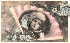Laure Fleur.  Reutlinger Postcard.  SIP Series 941