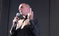 Yanis Varoufakis claims video of him is fake as figures show the government   has fallen back into deficit