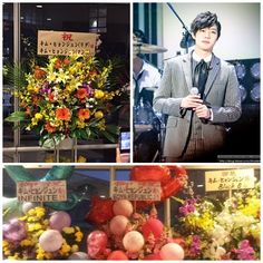 nice Kim Hyun Joong Received Congratulatory Flower Wreaths From SS501 Kim Hyun Jun (Maknae) and other  Kpop Idols