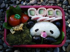 Bento box art. this would be so cute to take to luch! #gladinspiredlunches