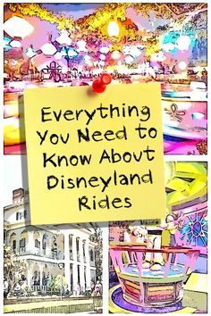 """Everything you wanted to know about the rides at Disneyland, including insider tips and when to say """"cheese"""" for your picture"""