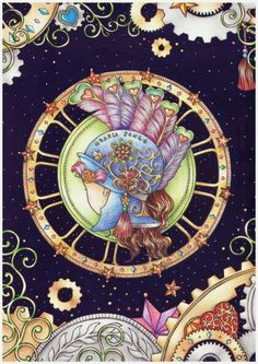 The Time Chamber A Magical Story And Coloring Book Adult Books DariaSong