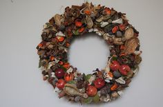 Wianek, stroik,wreath, fall, decorations
