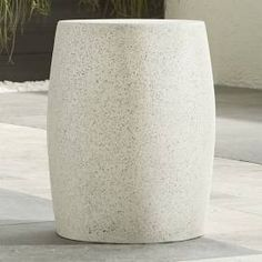 drum stone side table - Google Search