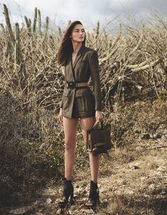 Шик стиля милитари 2017 в женской одежде: 50 фотоновинок - StyleLine.me - информационный женский портал
